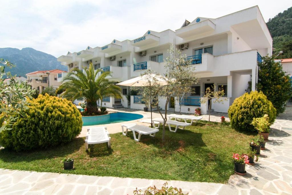 Apartamento Smaro Studios (Grécia Chrysi Ammoudia) - Booking.com
