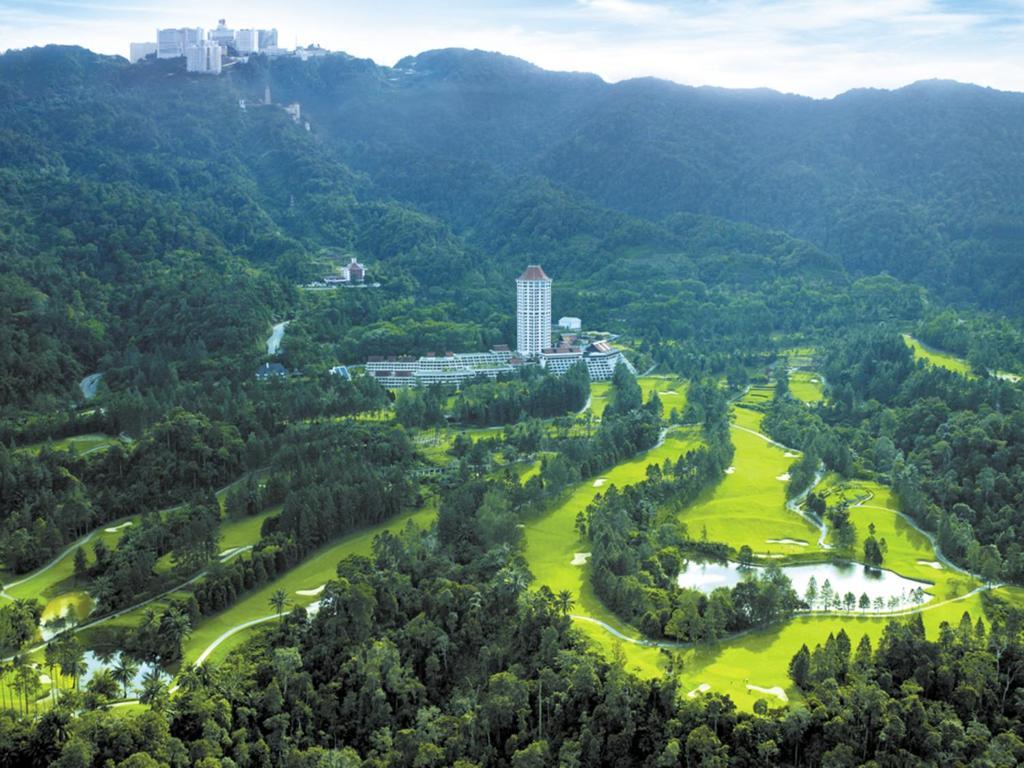 منظر Resorts World Awana من الأعلى