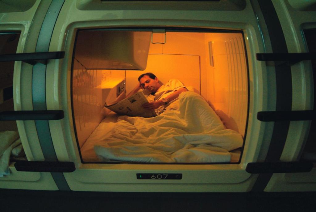 Japan Hotel Reviews Capsule Hotel And Sauna Ikebukuro