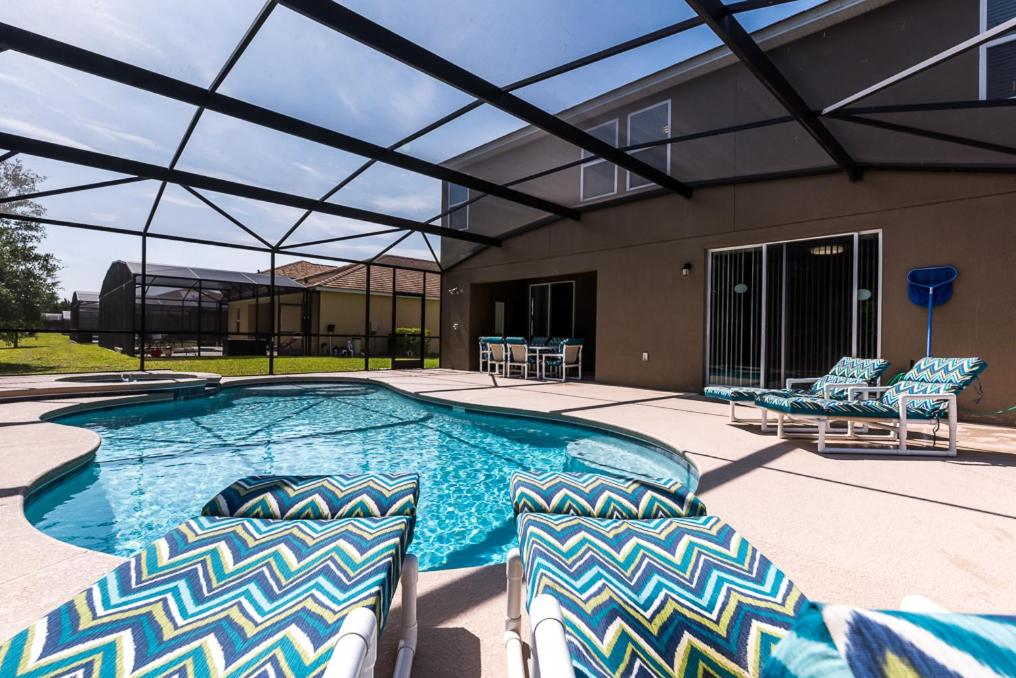 Orlando luxury 6 bedroom villa kissimmee fl - Florida condo swimming pool rules ...