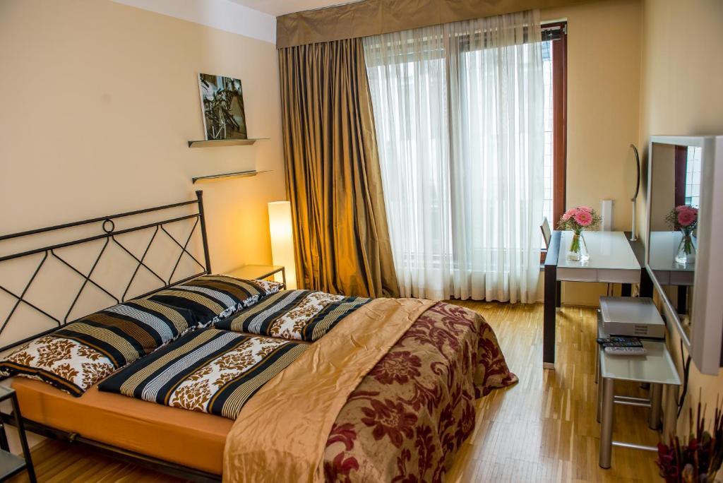 Um quarto em River Diamond Luxury Apartments