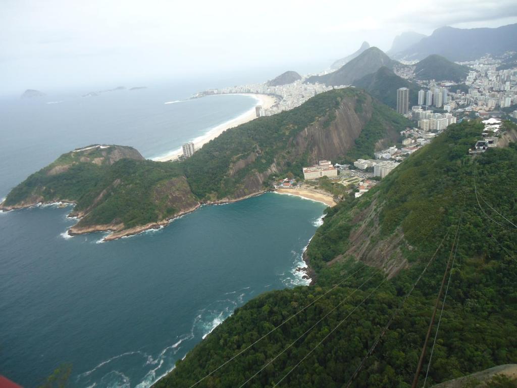 Uma vista aérea de Temporada Rio de Janeiro