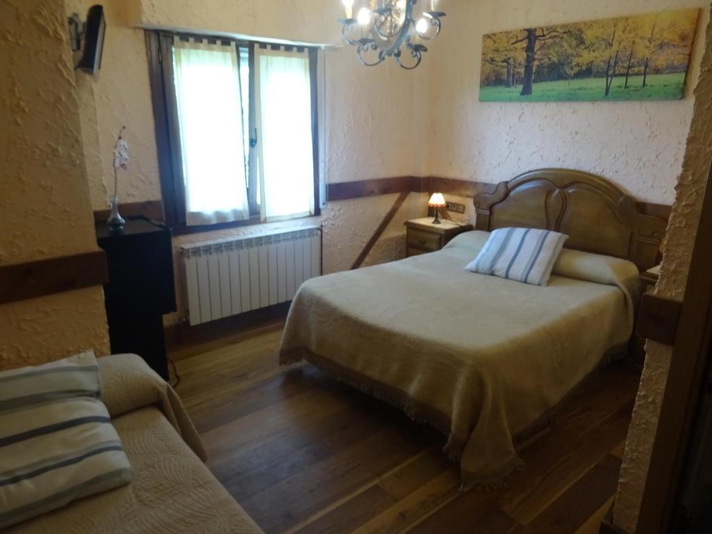 Una habitación de Casa Rural Arratzain