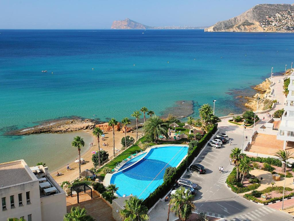 Apartment sotavento calpe spain for Reservation appart hotel espagne