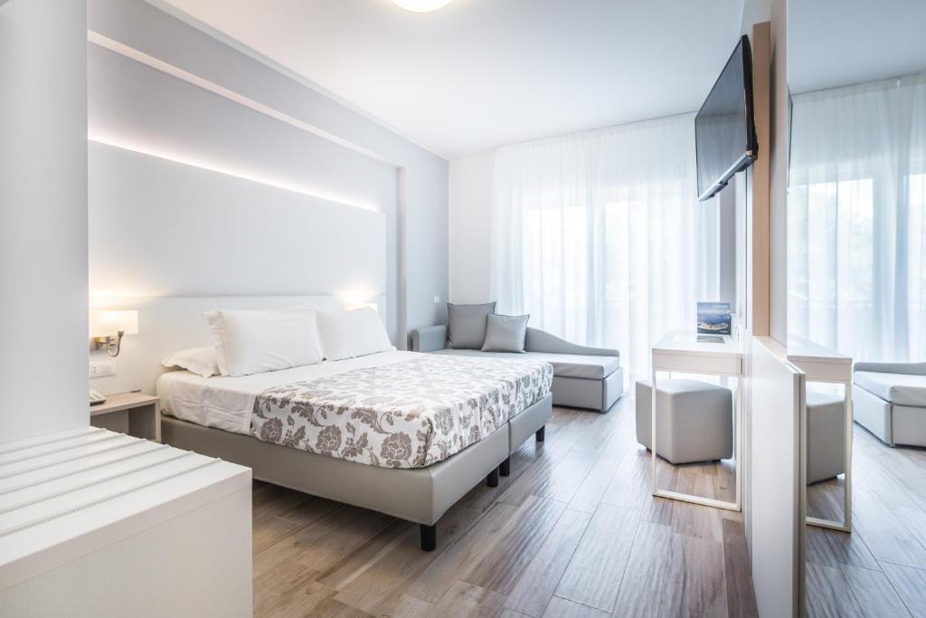 غرفة في Hotel Bologna