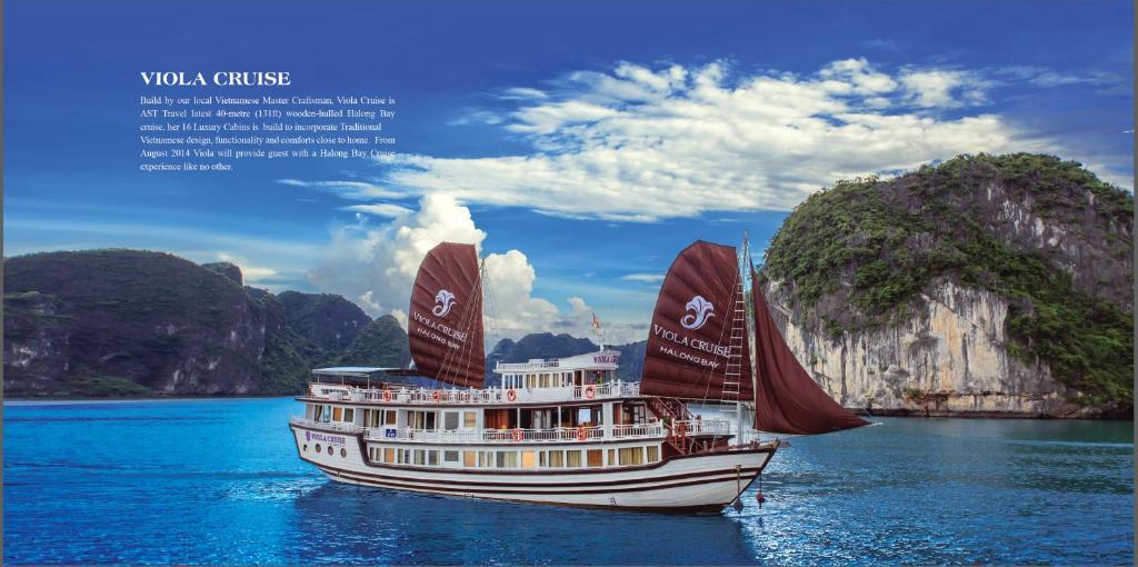 Du thuyền Viola Hạ Long Bay