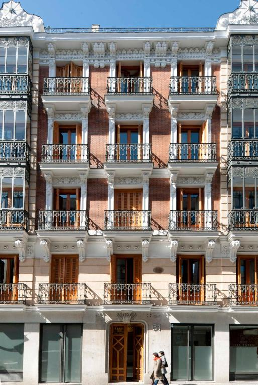 Apartment the eric vokel madrid spain for Madrid appart hotel