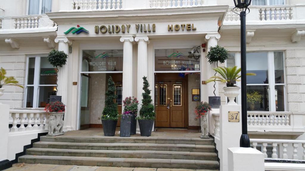 المظهر الخارجي أو مدخل فندق هوليداي فيلا