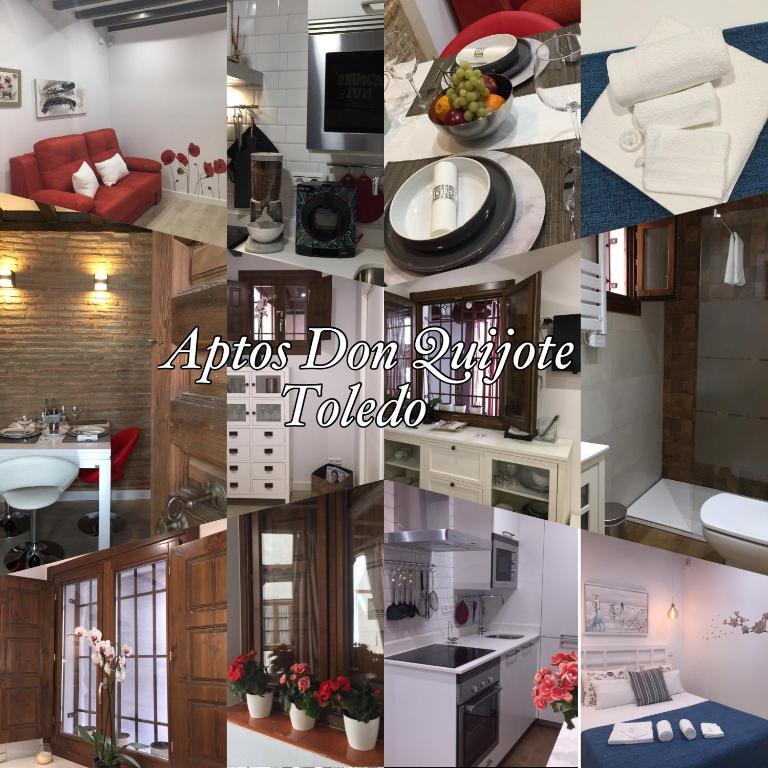 Apartment don quijote toledo spain for Hotel meuble adriana