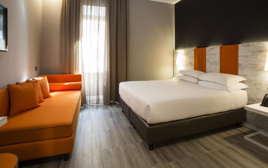 Una habitación de Smooth Hotel Rome Termini