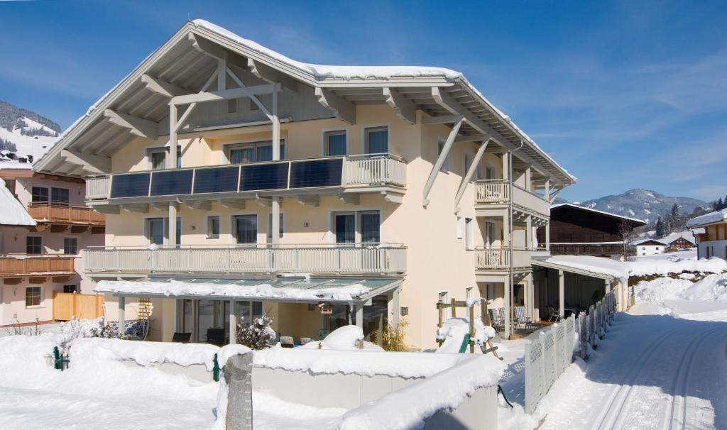 Appartements Bergsonne בחורף