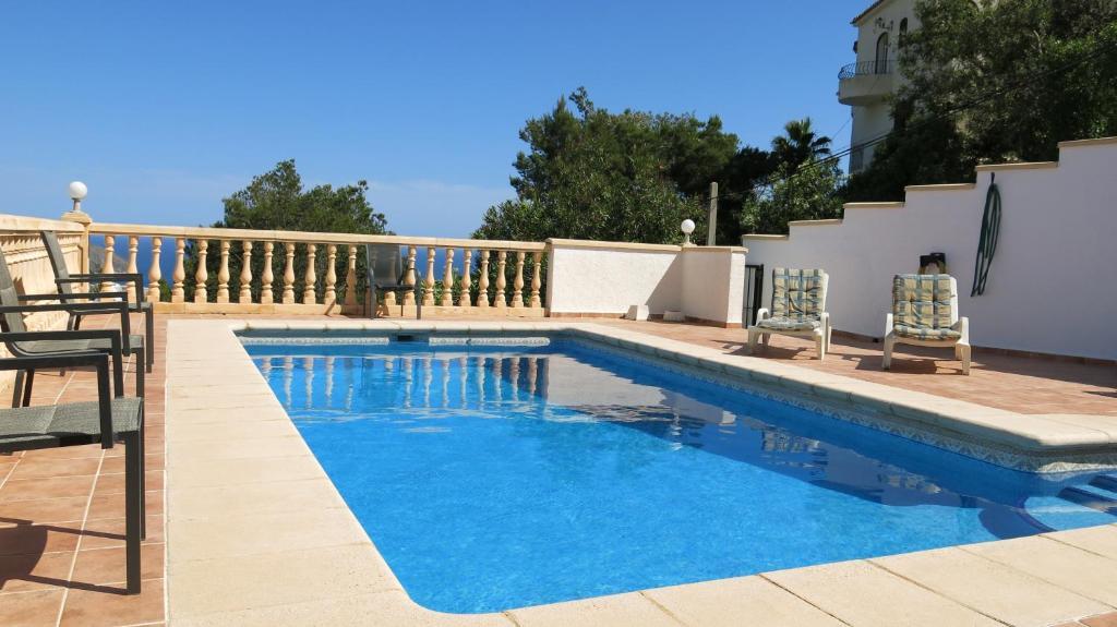 Casa de vacaciones casa del mar moraira espa a teulada - Casas del mar espana ...