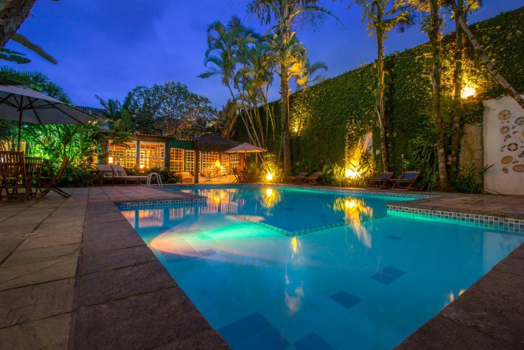 A piscina localizada em Pousada do Príncipe ou nos arredores