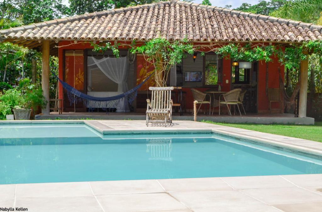 Casa de vacaciones estrela vermelha casas brasil trancoso for Booking casas