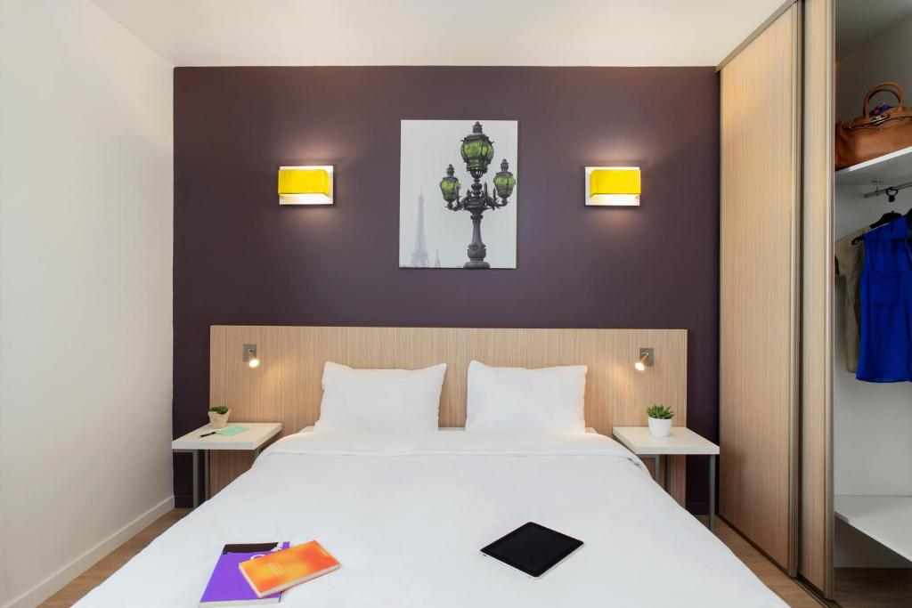 Condo hotel adagio access paris clichy france for Reservation hotel adagio