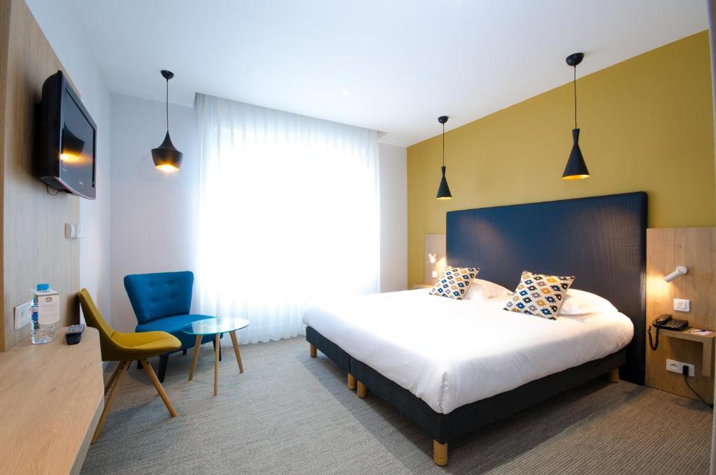 Giường trong phòng chung tại Best Western Plus Hotel Plaisance
