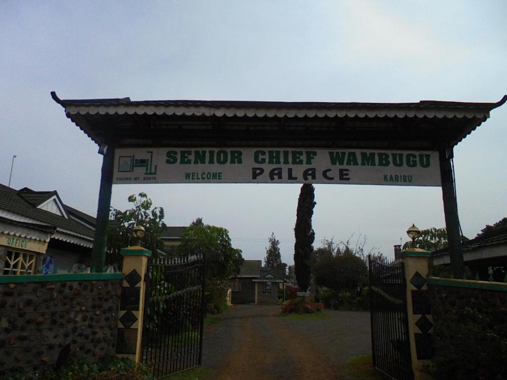 Senior Chief Wambugu Palace