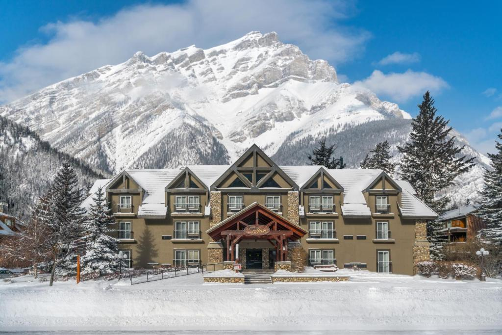 Banff Inn durante o inverno