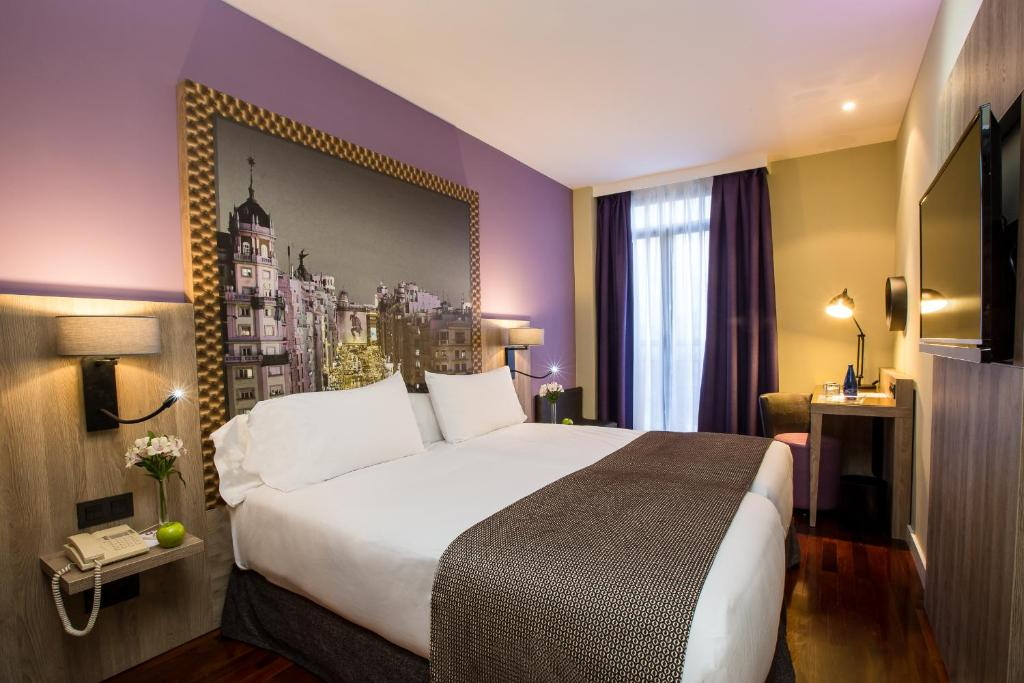 Leonardo hotel madrid city center for Design hotel madrid