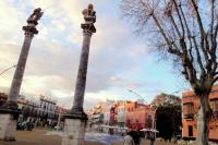 Atico con terraza en Alameda de Hercules