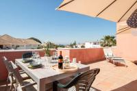 Stunning 35m2 Terrace! Fantastic Sea Views with great sunsets! Free Wifi!
