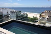 Rio055-Cobertura de luxo com piscina no Leblon, na Rainha Guilhermina perto da Delfim Moreira