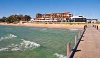 Boardwalk By The Beach