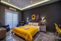 Black n Yellow Apartment
