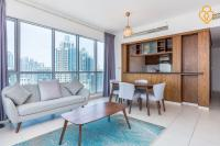 Keysplease Modern 1 B/R Apt Burj residences Downtown Dubai