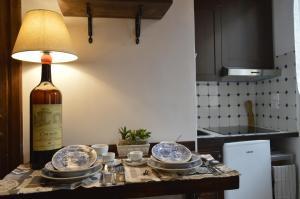 A cozinha ou cozinha compacta de Nido de' Pitti