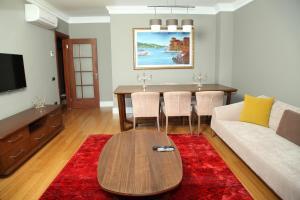 אזור ישיבה ב-Eyup Sultan Suites