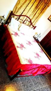 Giường trong phòng chung tại Casa Yahima Municipio Playa