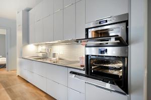 מטבח או מטבחון ב-Crocetta Apartment