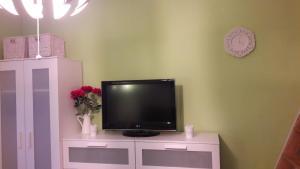 Uma TV ou centro de entretenimento em Vysočany