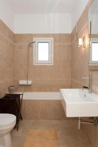 Phòng tắm tại Casa Bianca