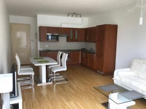 A cozinha ou cozinha compacta de River Diamond Luxury Apartments