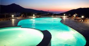 A piscina localizada em Amorgion Hotel ou nos arredores