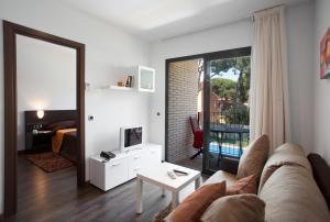אזור ישיבה ב-SG Marina 54 Apartments