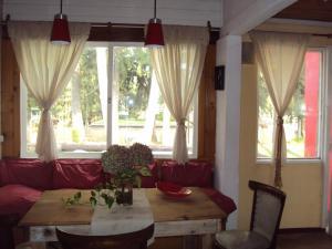 Um restaurante ou outro lugar para comer em Casa Ibiza