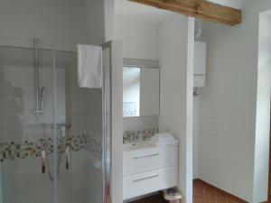 Um banheiro em La Corte del Conte