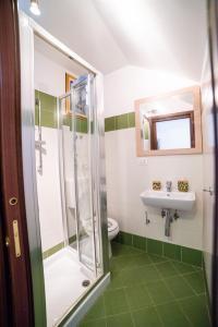 Un baño de Le Terme Romane Apartments