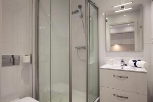 Un baño de Habitat Apartments ADN