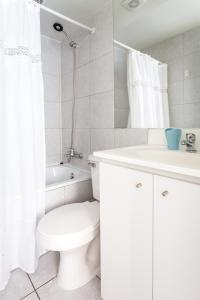 Um banheiro em Gran Piso