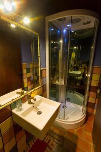 Phòng tắm tại Casa Emilia