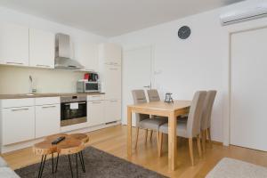 מטבח או מטבחון ב-Vienna Stay Apartments Tabor 1020