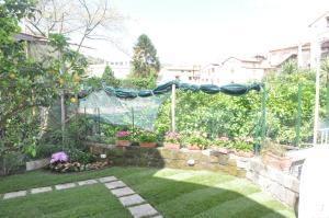 The gardens at Hotel Mignon, Sorrento