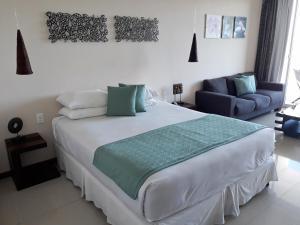 Cama ou camas em um quarto em Zen Boutique Apart Hotel
