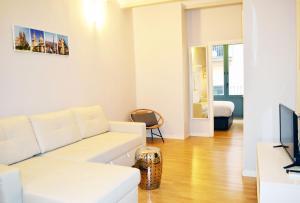 Un lugar para sentarse en Barcelona Mercaders Apartments