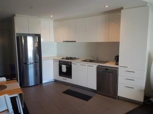 Nhà bếp/bếp nhỏ tại Southbank Short Stay Apartment