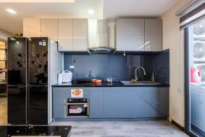 Nhà bếp/bếp nhỏ tại Apartments Sea View